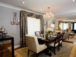 Dining Room Chandeliers Transitional Decor Transitional Dining Room Using Upholstered White Chairs And
