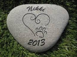headstones for dogs sandblast engraved river pet memorial headstone grave marker