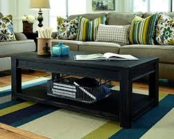 Key Town Sofa Table by Amazon Com Ashley Furniture Signature Design Gavelston Black