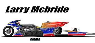 help design larry mcbride u0027s new top fuel dragbike paint scheme