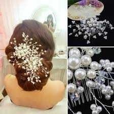 pearl hair accessories wedding hair accessories pearl hair bridal