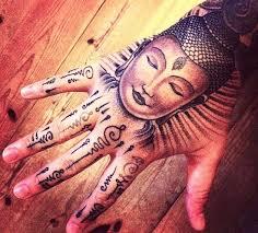 buddhist tattoosteulugar