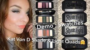kat von d shade light eye contour quad kat von d shade light eye contour quads sage smoke plum