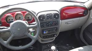 Interior Pt Cruiser 2001 Chrysler Pt Cruiser Red Stock 6319a Interior Youtube