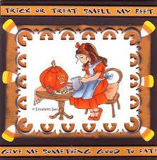 Halloween Card Invitation Cute Classic Style Trick Or Treat Sayings Halloween Greeting Card
