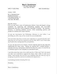 standard covering letter