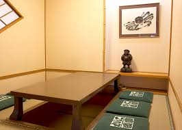 Japanese Style Dining Table by Dotombori Nakamisemid Branch Store Photograph Kani Doraku Private