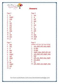 grade 3 grammar topic 14 helping verbs worksheets lets share