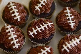 football cupcakes chocolate football cupcakes