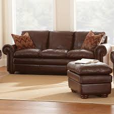 Chestnut Leather Sofa Yosemite Leather Sofa Loveseat Chair Set Akron Chestnut