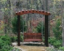 swing arbor plans garden arbor designs patio garden swing arbor wood arbor plans free