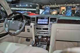 Lexus Lx Interior Pictures 2012 Detroit Lexus Lx 570 Egmcartech