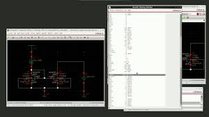 virtuoso layout design basics simulating a simple current mirror in cadence virtuoso youtube