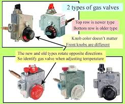 where is the pilot light on a gas oven gas water heater pilot light wont stay lit identify your gas valve 2