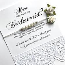 bridesmaid invite will you be my bridesmaid bridesmaid gift