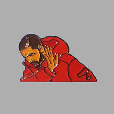 How To Make A Drake Meme - drake hotline bling meme enamel lapel pin