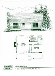 Large 1 Story House Plans Bedroom Log Cabin Floor Plans Also 4 Interallecom Cabin Floor