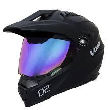 cool motocross helmets 601 d2 dual sport helmet matte black voss motorcycle helmets