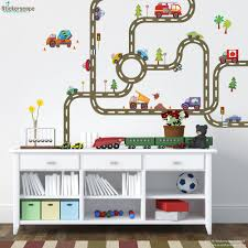 diy road map wall sticker create a transport themed bedroom transport wall stickers design your own road map wall sticker pack