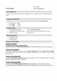 Best Resume For College Student by Examples Of Resumes Objective For Resume College Student Ideas