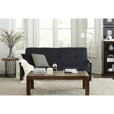 Harrison Bedroom Furniture by Mainstays Monaco Black Metal Futon With 6