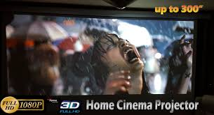 3d hd projectors for home theater full hd home projector 1080p 3d movie cinema 300inch unboxing