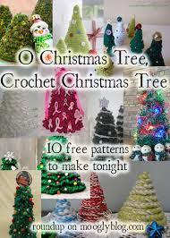 o christmas tree crochet christmas tree moogly