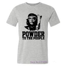 che guevara t shirt shop summer style tops powder to the che guevara t