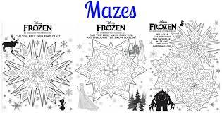 kitchen kp disney u0027s frozen activity printables