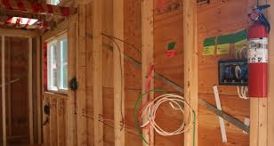 tiny house construction plumbing u0026 electrical rough in morehawes