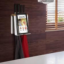 tablette pour recette de cuisine porte livre de cuisine et range couteaux cookie empasa