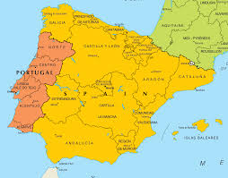 San Sebastian Spain Map by Map Of Portugal And Spain Imsa Kolese
