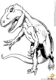 coloring pages dinosaurs rex raptor coloring pages download