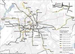 Air Berlin Route Map by History Of The Berlin U Bahn Wikipedia