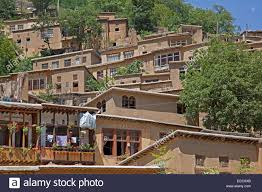 adobe style houses interconnected houses made of adobe rods and bole in terrace