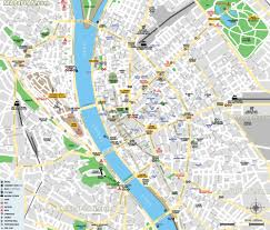 budapest maps top tourist attractions free printable city