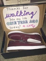 one year anniversary gifts for dating boyfriend for one year anniversary gifts by year