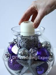 Christmas Centerpieces Diy by Diy Christmas Wedding Centerpiece