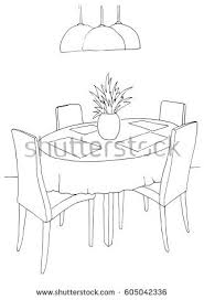 Part Of Flowers - table two chairs on table two stock vector 604046420 shutterstock