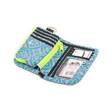 kavu zippy wallet neon chevron hollain en