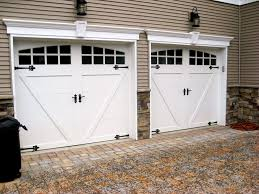 stylish home interior design charming carriage style garage doors in stylish home interior