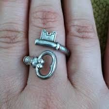 urban skeleton ring holder images Avon jewelry sterling silver skeleton key ring poshmark jpg
