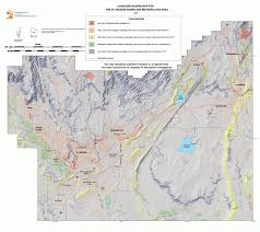 Topographic Map Of Utah by Geologic Hazard Maps For St George Hurricane Area U2013 Utah