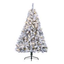 7ft led pre lit snowy toronto pine tree notcutts notcutts