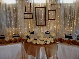 wedding backdrop rentals table backdrop rental 20 w x 10 h draped in chiffon fairy