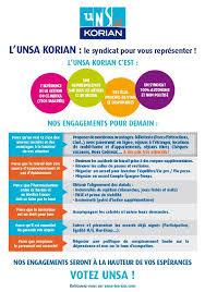 medica siege les professions de foi de l unsa korian pour les élections du 8