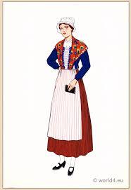 traditional national costumes les costumes regionaux de la