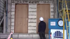 fire resistant glass doors bs 476 22 fire resistance testing youtube