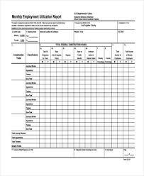 utilization report template employee utilization excel template fieldstation co