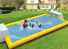 aeor selling inflatable football pitch inflatable football